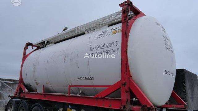 دبابات الحاويات 20 VAN HOOL NUOMA PARDAVIMAS, tanker