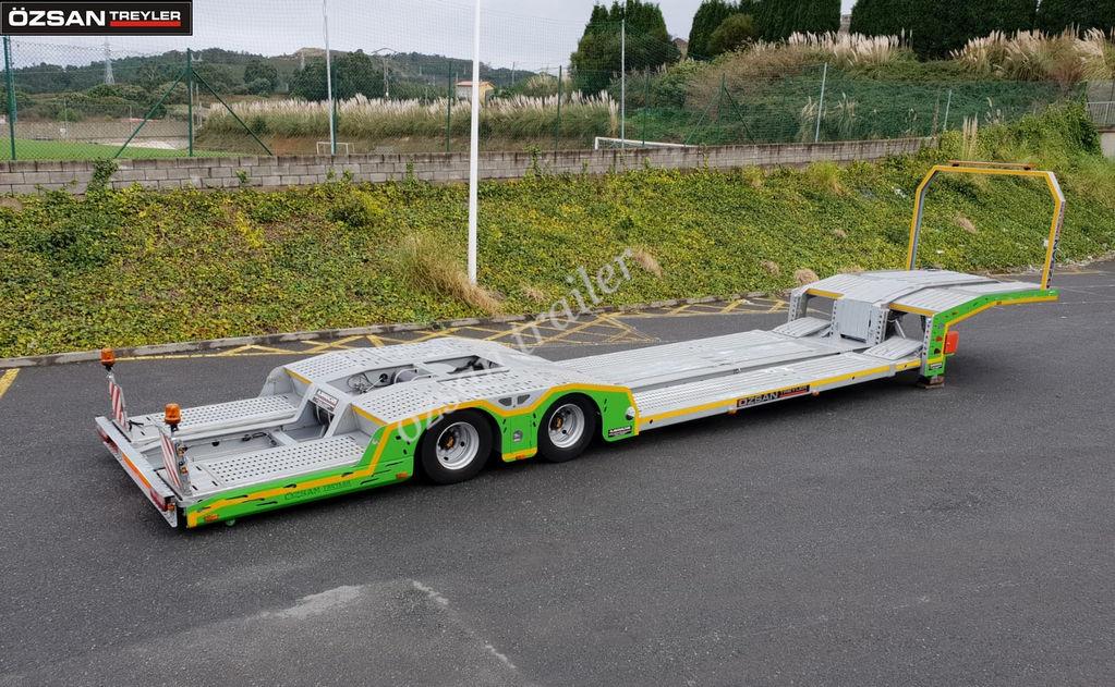 العربات نصف المقطورة شاحنة نقل السيارات Ozsan Trailer 2 AXLE TRUCK CARRIER EXTENDABLE NEW MODEL OZS-TCE220