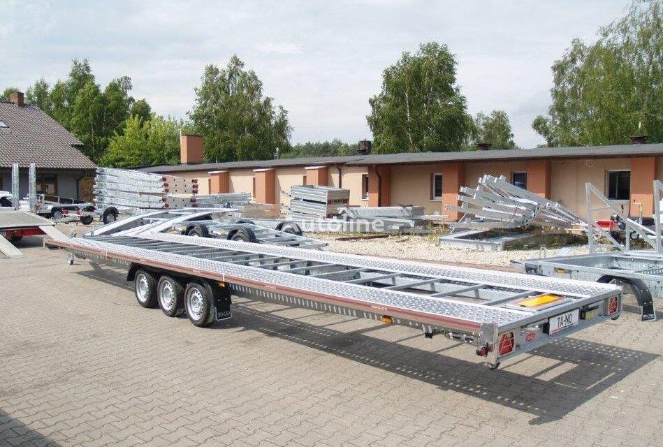جديد العربات المقطورة شاحنة نقل السيارات TA-NO Laweta TRIO 35.85 FTSTD Standard