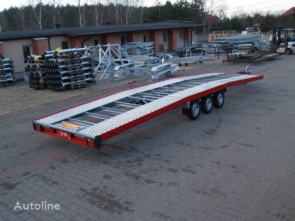 جديد العربات المقطورة شاحنة نقل السيارات TA-NO TRIO 35.85 PREMIUM