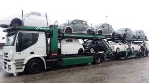 شاحنة نقل السيارات IVECO STRALIS 450 + العربات المقطورة شاحنة نقل السيارات