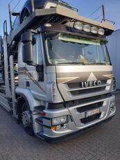 شاحنة نقل السيارات IVECO Stralis + العربات المقطورة شاحنة نقل السيارات