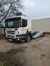 شاحنة نقل السيارات SCANIA P400 ASSISTANCE TRUCKS TRANSPORT
