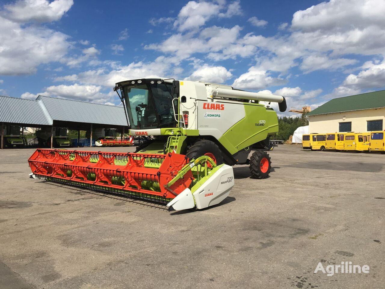 ماكينة حصادة دراسة CLAAS TUCANO 570