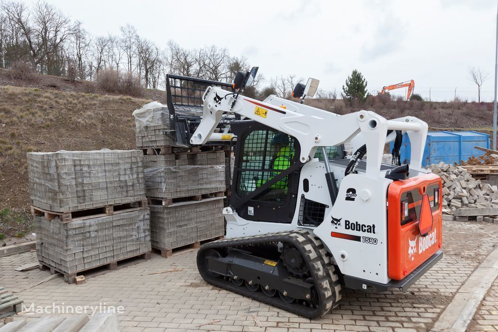 جديد ماكينة التحميل المجنزرة الصغيرة BOBCAT T590