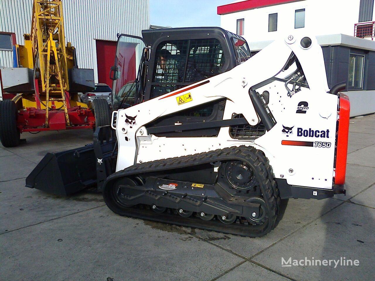 جديد ماكينة التحميل المجنزرة الصغيرة BOBCAT T650
