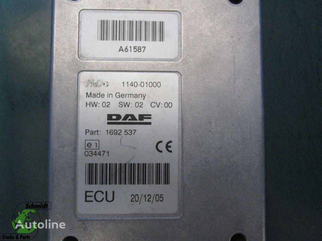 وحدة التحكم DAF 1692537 Regeleenheid لـ السيارات القاطرة DAF
