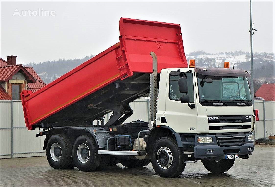 شاحنة قلابة DAF CF 75.360 Kipper+Bordmatic 5,20m Top Zustand!