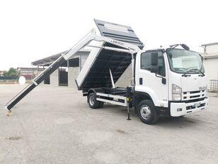شاحنة قلابة ISUZU FRR90 RIBALTABILE TRILATERALE + GRU
