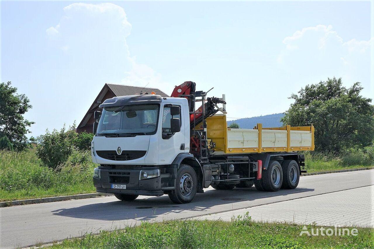 شاحنة قلابة RENAULT Premium 320 DXI Wywrotka 6,20m+HDS 6x4