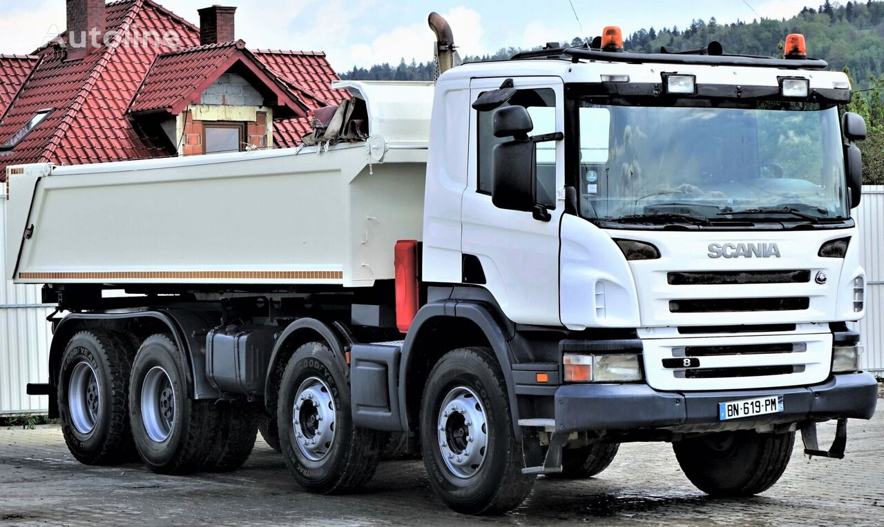 شاحنة قلابة SCANIA P380 Kipper 5,70m + Bordmatic *8x4 Topzustand!