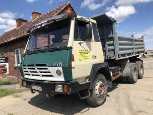 شاحنة قلابة STEYR 1491 Kipper Full Stell