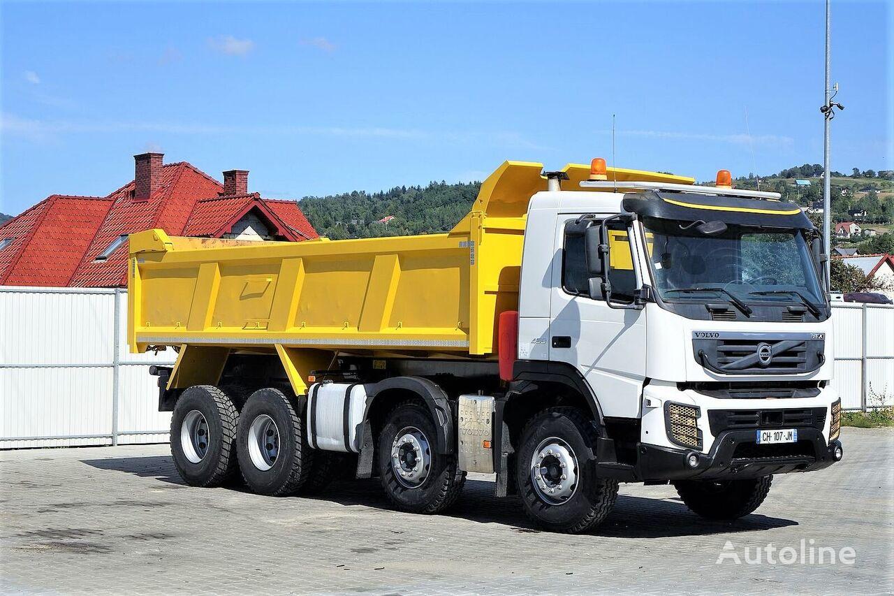 شاحنة قلابة VOLVO FMX 450 Kipper 6,10 * 8x4 Topzustand