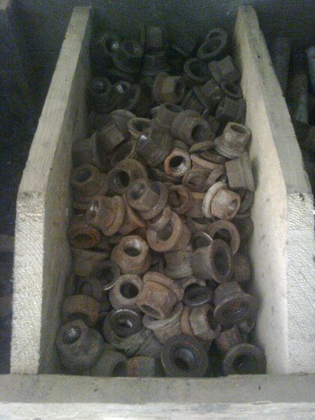 الأجزاء المثبتة Gayki kalesnye لـ العربات نصف المقطورة
