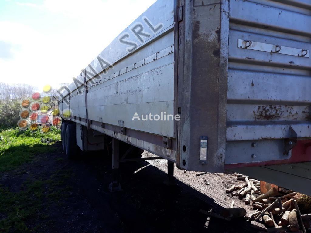 العربات نصف المقطورة شاحنة مسطحة ACERBI AF01TL