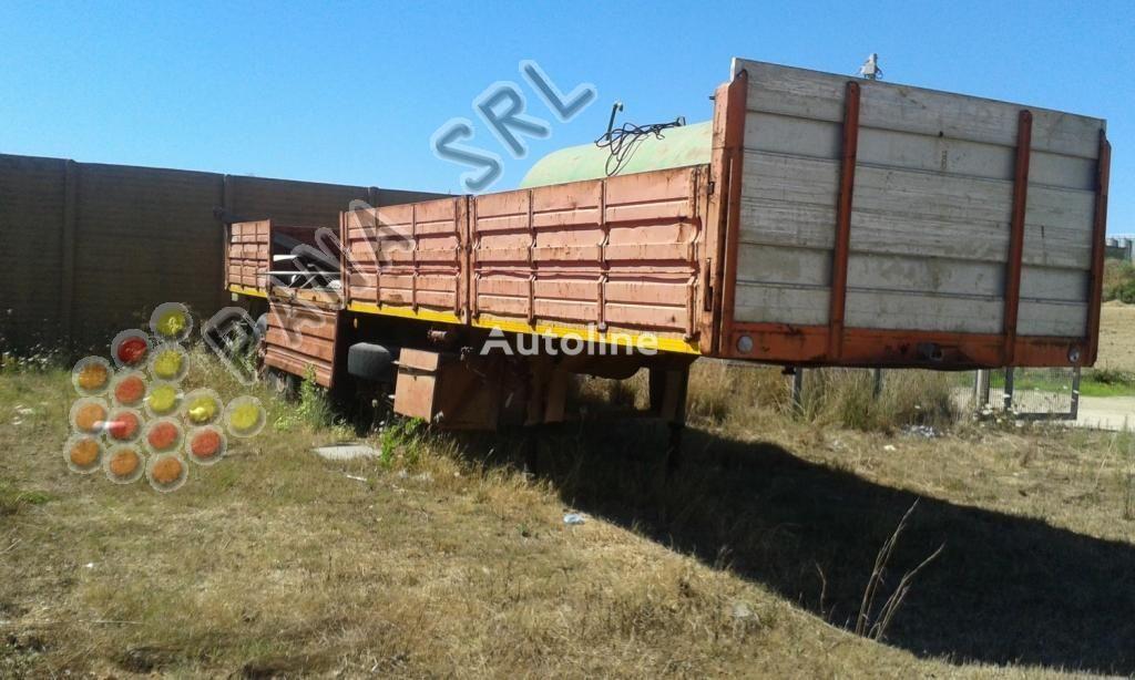 العربات نصف المقطورة شاحنة مسطحة CARDI 503A4