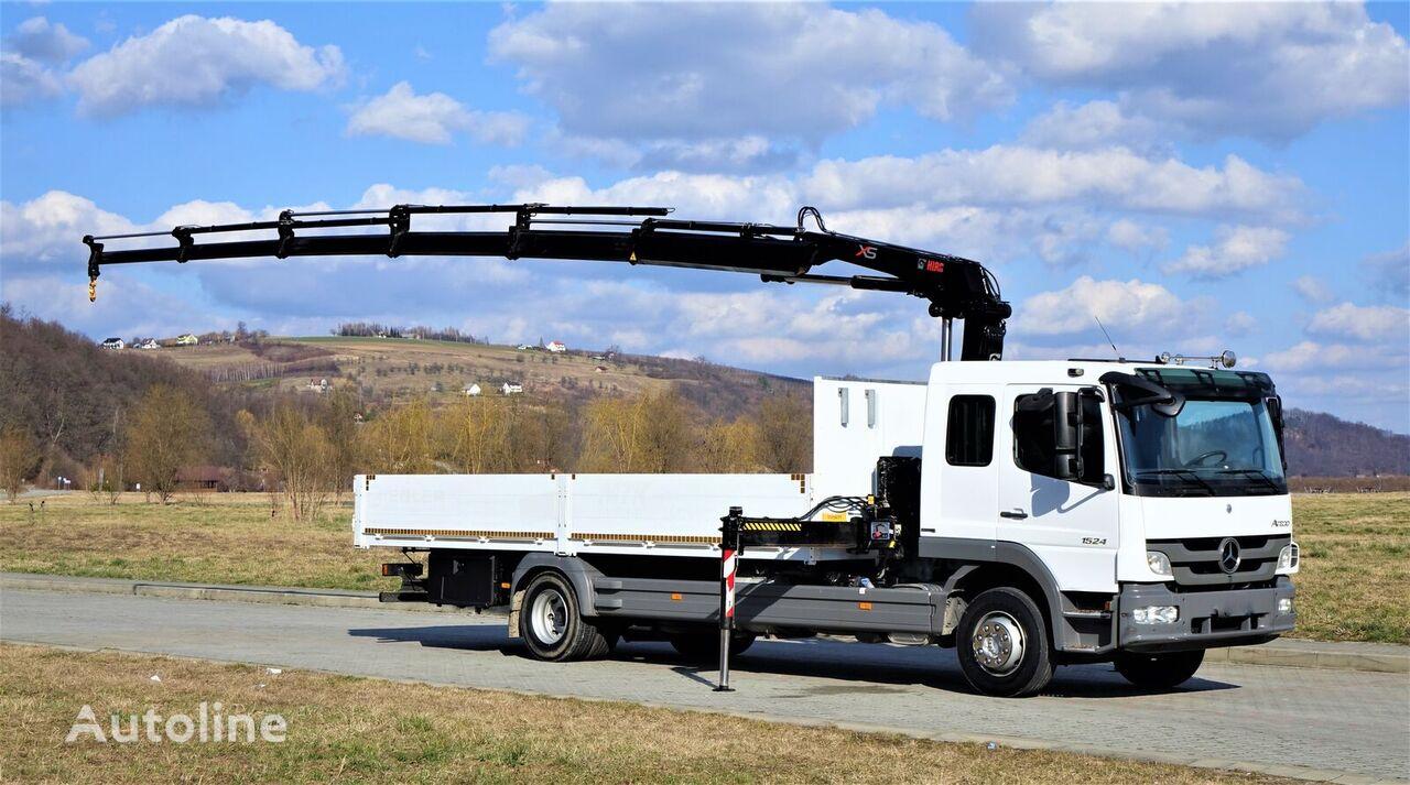 شاحنة مسطحة MERCEDES-BENZ ATEGO 1524