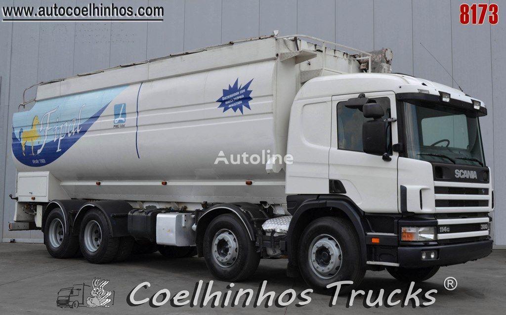 شاحنة نقل الحبوب SCANIA 114G 380