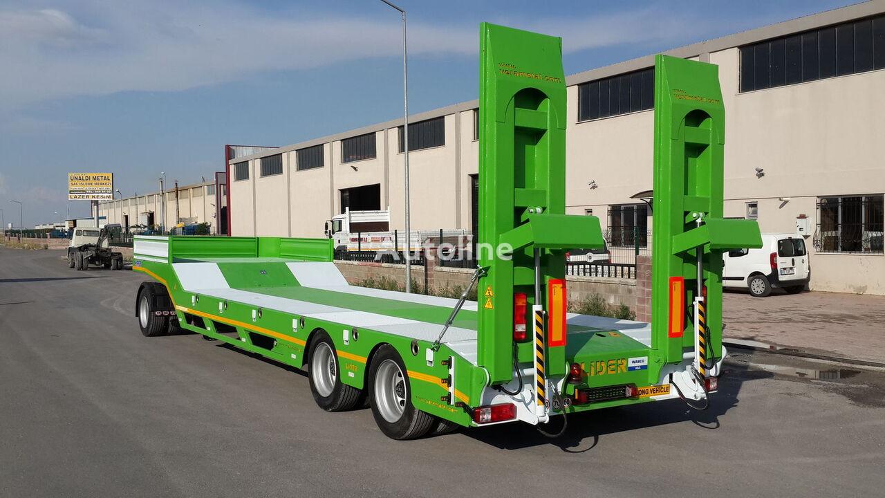 جديدة العربات نصف المقطورة عربة مقطورة مسطحة منخفضة LIDER 2020 model new from MANUFACTURER COMPANY (LIDER trailer )