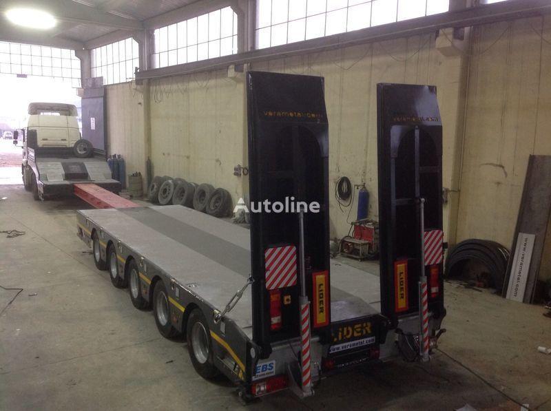 جديدة العربات نصف المقطورة عربة مقطورة مسطحة منخفضة LIDER NEW 2019 model new by manufacturer Lider Trailer