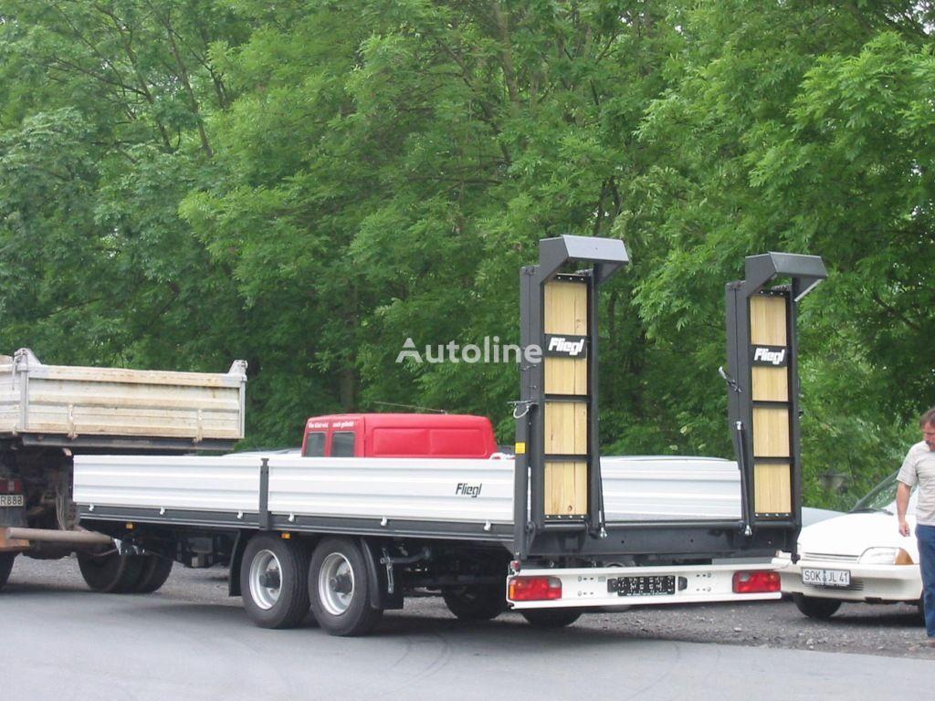 جديد العربات المقطورة عربة مقطورة مسطحة منخفضة FLIEGL Fliegl TTS 100