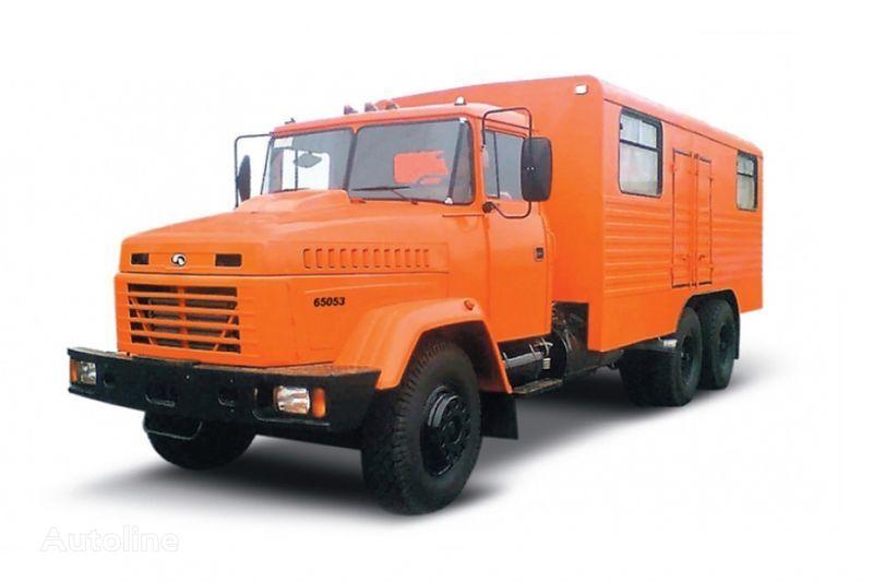شاحنة عسكرية KRAZ 65053 masterskaya
