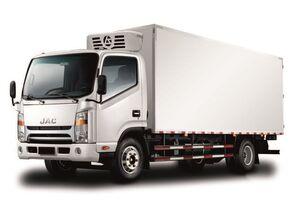 جديدة شاحنة التبريد JAC Изотермический фургон с ХОУ JAC N 80