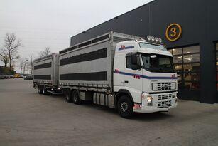شاحنة نقل الطيور VOLVO FH12.480 6x4 + العربات المقطورة شاحنة مقفلة