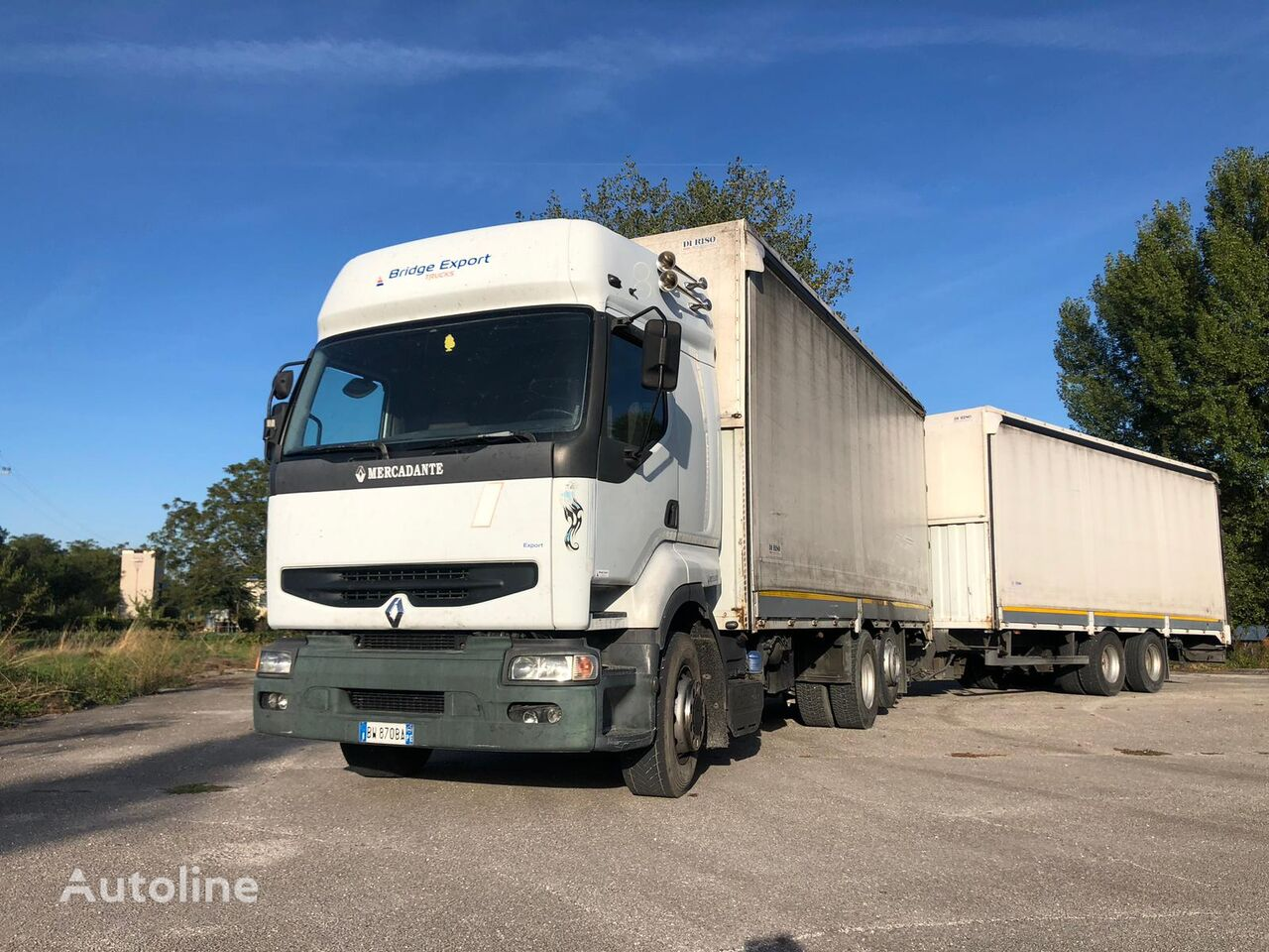 نقل البضائع RENAULT PREMIUM 420 DCI + biga Omar