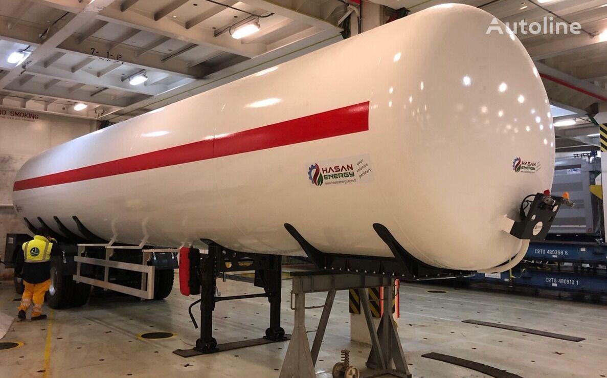 جديد عربة الصهريج لنقل الغاز 75m3 30 35 40  tons LPG