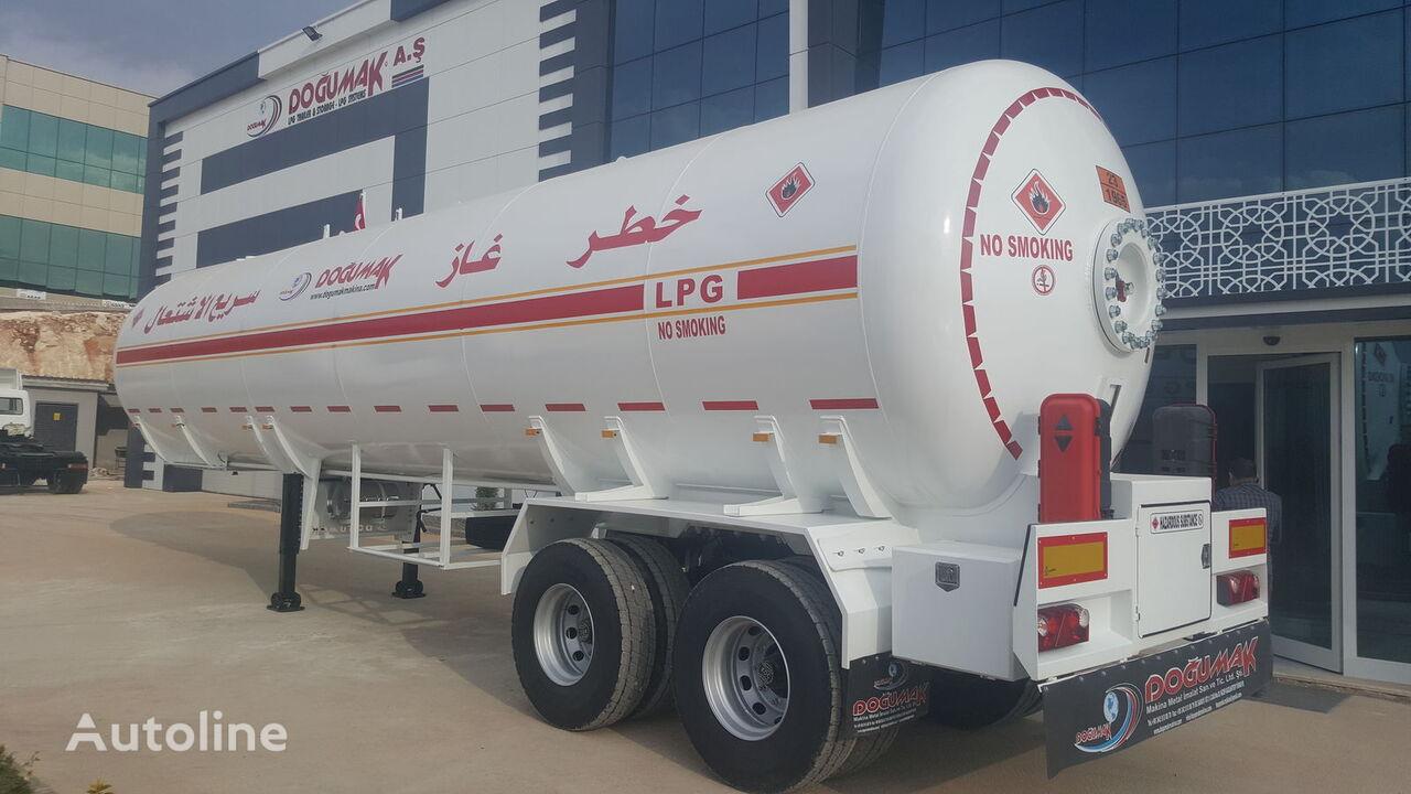 جديد عربة الصهريج لنقل الغاز DOĞUMAK DM - LPG 57M3 YMN