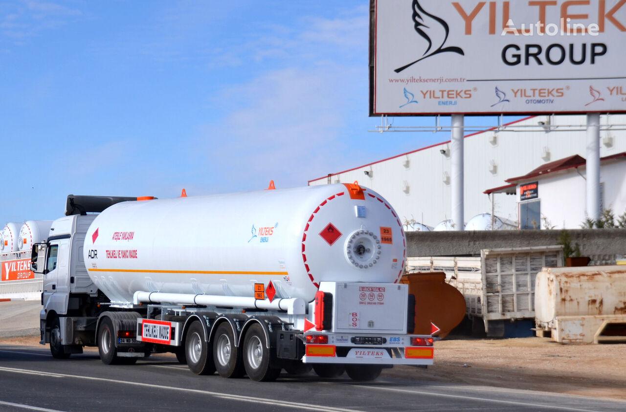 جديد عربة الصهريج لنقل الغاز YILTEKS LPG TRAİLER - ADR