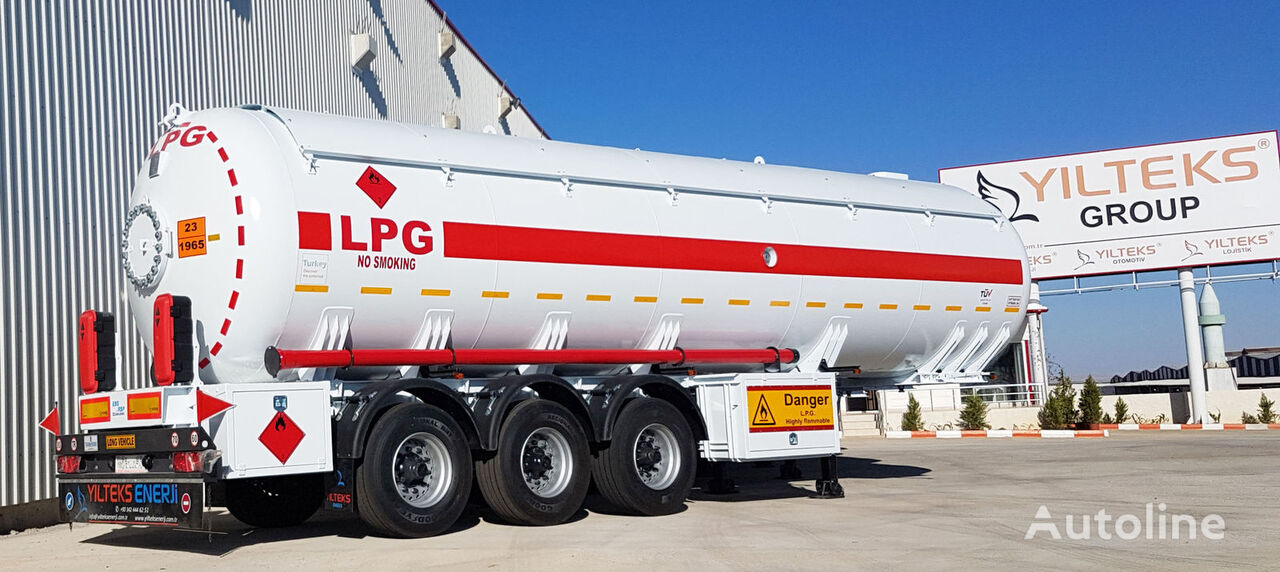 جديد عربة الصهريج لنقل الغاز YILTEKS LPG Trailer 46m3 ASME