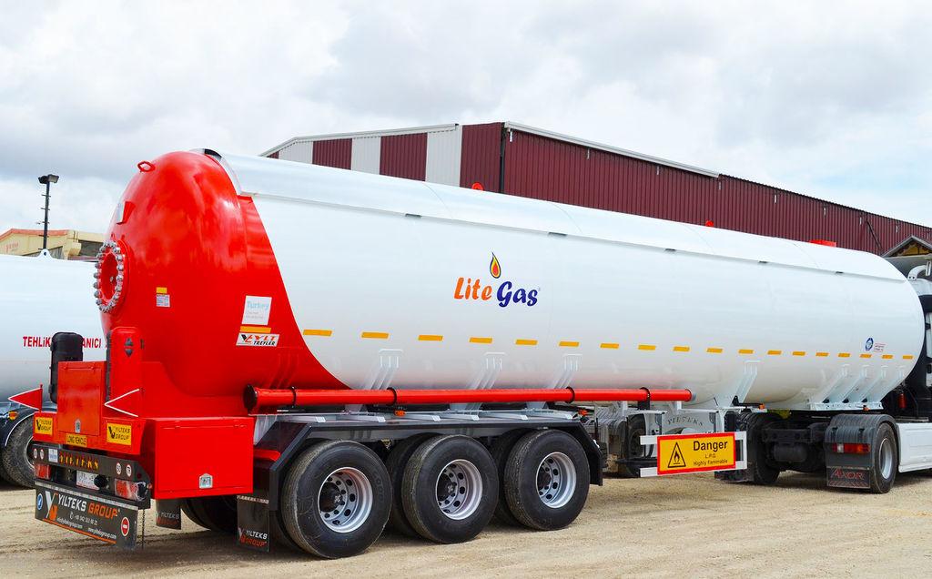 جديد عربة الصهريج لنقل الغاز YILTEKS Semi Trailer LPG Tank 57m3