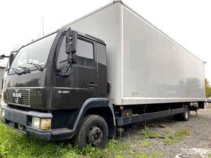 شاحنة مقفلة MAN 12.224 Koffer 9 m, LBW, full steel