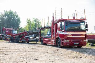 شاحنة نقل السيارات DAF Trailer FA CF75 + العربات المقطورة شاحنة نقل السيارات