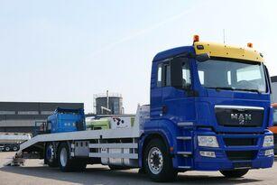 شاحنة نقل السيارات MAN TGS 26.400 6x2 Csörlővel és rámpával