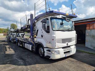 شاحنة نقل السيارات RENAULT PREMIUM 450DXI SILVER CAR + العربات المقطورة شاحنة نقل السيارات