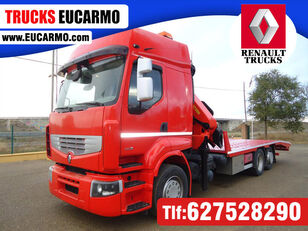 شاحنة نقل السيارات RENAULT PREMIUM 460