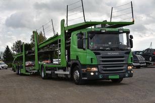 شاحنة نقل السيارات SCANIA P 380 + العربات المقطورة شاحنة نقل السيارات