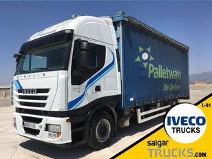 شاحنة ذات أغطية جانبية IVECO AS440S45T/P