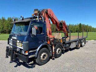 شاحنة مسطحة SCANIA P 113 H
