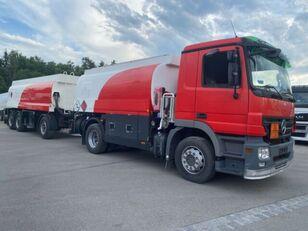 شاحنة نقل الوقود MERCEDES-BENZ 1844. 1846 Tankwagen 13050L + عربة الصهريج لنقل الوقود ومواد التشحيم