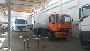 شاحنة نقل الغاز IVECO 150E23 LPG/GAS CAPACITY 16000LTR + PUMP + LITERS COUNTER