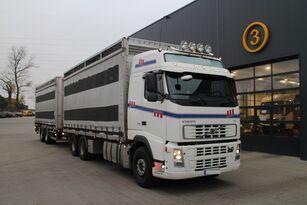 شاحنة نقل المواشي VOLVO FH12.480 CHICKEN TRANSPORTER + العربات المقطورة شاحنة نقل المواشي