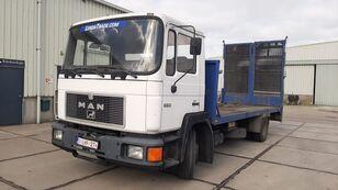 عربة مقطورة مسطحة MAN FL 14.192 Euro 1 Winch 15.000kg