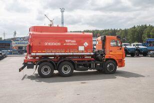 جديدة شاحنة الصهريج KAMAZ АЦ - 17 с насосом на шасси Камаз 65115-50