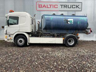 شاحنة الصهريج SCANIA P94-300, 4x2 HOOKLIFT + WATER TANK