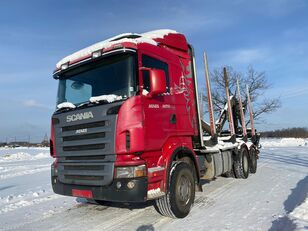 شاحنة نقل الأخشاب SCANIA R-420