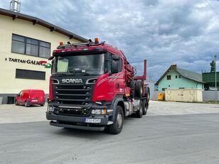 شاحنة نقل الأخشاب SCANIA R520